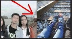 Seorang Gadis Tewas Tragis Tersembar Kereta Saat