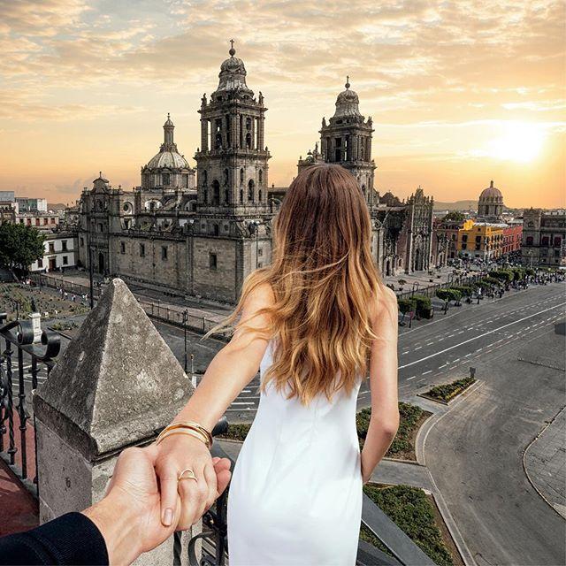 #15 MEXICO Pasangan ini juga mengunjung negara Meksiko tepatnya di Mexico City. Mereka sangat gembira dengan hubungan yang dijalinnya.