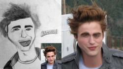 SKETSA Buruk Wajah Artis Dibandingkan Dengan Wajah Aslinya! Gokil!
