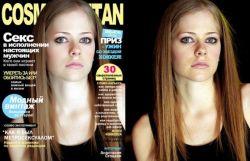 FOTO Sebelum dan Sesudah PHOTOSHOP Selebriti di Cover Majalah!