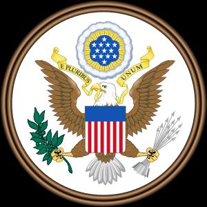Amerika Serikat Lambang negara Amerika Serikat atau Segel Agung Amerika Serikat adalah lambang yang digunakan sebagai segel resmi berbagai dokumen yang dikeluarkan oleh Pemerintah Federal Amerika Serikat. Lambang ini pertama kali digunakan secara umum pada tahun 1782.