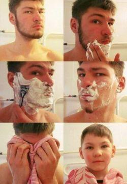 Transformasi Gokil Para Pria Sebelum dan Sesudah Mencukur JENGGOT!