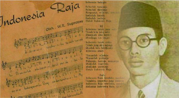 #9 INDONESIA RAYA Pada tahun 1928, Kongres Pemuda Indonesia ke-2 mengikrarkan satu nusa, satu bangsa, dan satu bahasa: INDONESIA. Sejak itulah Indonesia sebagai nama dari sebuah negeri yang diperjuangkan makin berterima luas di kalangan kaum pergerakan dan rakyat banyak. Dua tahun sebelumnya, Wage Rudolf Supratman menciptakan lagu berjudul Indonees, Indonees, yang kemudian di tahun 1944 diubah menjadi Indonesia Raya. Lagu itu diperdengarkan tanpa lirik oleh WR Soepratman di Kongres Pemuda Indonesia ke-2 di gedung Indonesische Clubgebouw, Jalan Kramat Raya 106, Jakarta, tahun 1928. Sejak itulah cita-cita Indonesia Raya bergema di hampir semua pulau-pulau sepanjang Semenanjung Malaya hingga Papua. Tahun 1937, di Malaya (sekarang Malaysia), berdiri organisasi nasional bernama Kesatuan Melayu Muda (KMM). Dalam programnya, KMM menyatakan ingin mempersatukan Malaya ke dalam satu ikatan dengan Indonesia Raya. Sumber gambar : kampusupdate.com