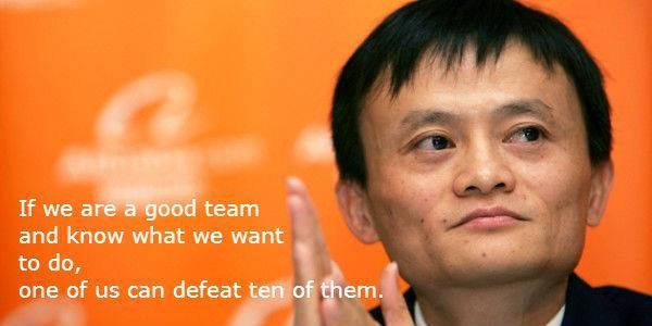 #3 Jika kita adalah satu tim yang baik dan tahu apa yang ingin kita lakukan, satu orang saja dari kita bisa mengalahkan sepuluh kompetitor kita. Itu adalah pesannya kepada orang-orang bagaimana itu kerja sama di dalam satu tim.