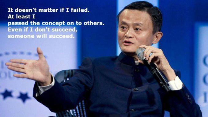 #4 Tidak masalah jika saya gagal. Setidaknya saya mewariskan konsepnya ke orang lain. Bahkan jika saya tidak sukses, seseorang akan sukses. Kamu harus memiliki misi dalam dirimu sendiri. Jangan pedulikan bagaimana gagal atau tidak, tetapi pedulikan misimu dapat membantu orang lain.