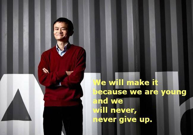 #5 Kita akan berhasil karena kita masih muda dan kita tidak akan, tidak akan pernah menyerah. Apa yang akan diperoleh di saat tua nanti adalah sebuah hasil dari ketekunan yang dilakukan setiap hari.