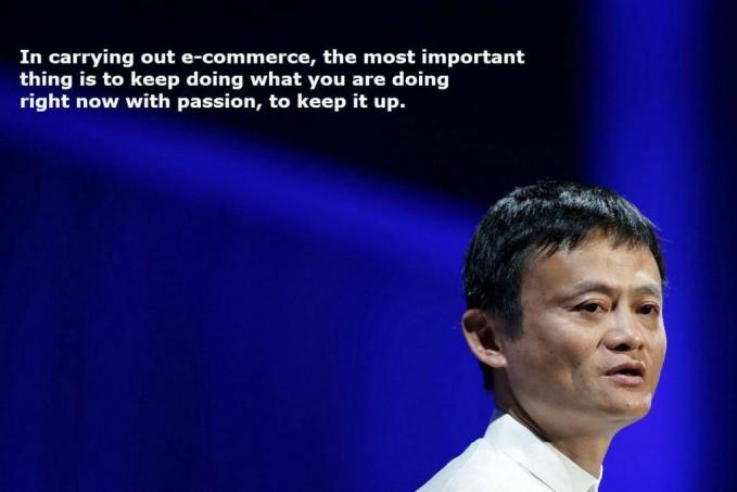 #9 Dalam membangun bisnis e-commerce, hal yang paling penting adalah untuk terus melakukan apa yang kamu lakukan sekarang dengan passion, untuk menumbuhkannya. Menjadi sukses itu harus memiliki passion. Yaitu mengerjakan segala sesuatu dengan sangat antusias dan senang hati.