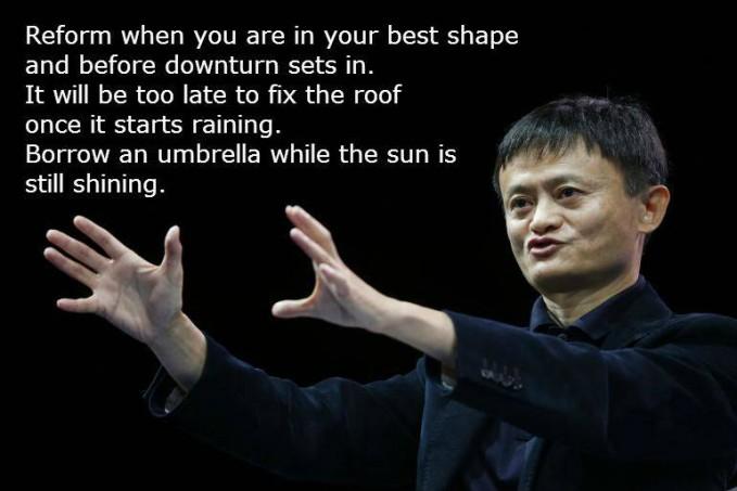 #12 Berubahlah selagi kamu dalam kondisi terbaikmu, sebelum muncul hal-hal buruk. Akan terlalu lambat untuk membetulkan atap saat musim hujan terlanjur datang. Pinjamlah payung selagi matahari masih bersinar. Persiapkanlah segala solusi penyelesaian masalah jauh-jauh hari!