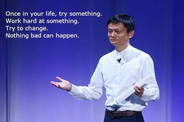 #16 Sekali dalam hidupmu, cobalah bekerja keras dalam sesuatu hal. Cobalah berubah. Tak ada hal buruk yang bisa terjadi. Teruslah ikuti perkembangan dengan terus bekerja keras dalam segala hal.