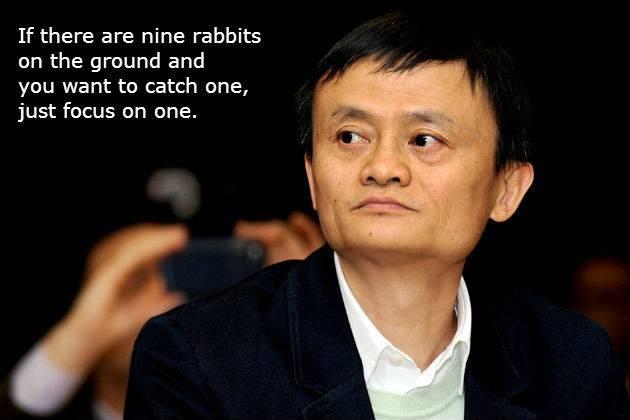 #17 Jika ada sembilan kelinci di tanah, dan kamu ingin menangkap satu, fokus pada satu saja. Untuk menjadi sukses itu harus fokus pada satu tujuan. Sudah cukup terinspirasi kan PULSKER? Bagaimana PULSKER? Sudah siapkah kamu menjadi SUKSES seperti Jack Ma? Terima kasih atas kunjungannya di artikel ini! Semoga menginspirasi dan bermanfaat.