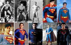 PERUBAHAN KOSTUM SUPERMAN dari Masa Ke Masa, KAMU suka Kostum SUPERMAN yang MANA?