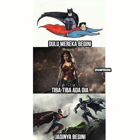 #9 DIA Siapa hayo penyebab rusaknya persahabatan antara Batman dan Superman? Apa bener Wonder Woman? @hampirkoma