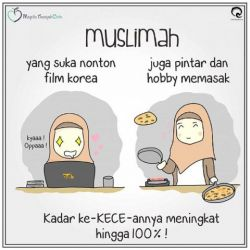 CERITA LUCU Gadis Muslimah yang Demam FILM KOREA