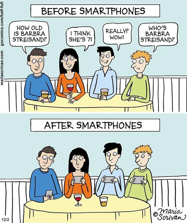 Nah ini, sebelum ada smartphone ngobrol ngalor ngidul bahkan sampai diusir pulang dari kafe. Kalau sekarang, yang lain ngontrak, woy!