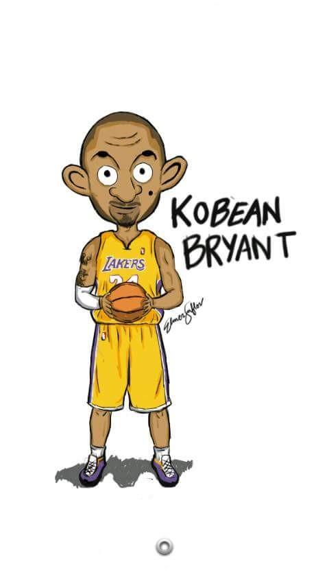 #16 KOBE BRYANT Ini dia, balik lagi ke dunia basket NBA. Kali ini pemain legendaris Kobe Bryant yang jadi korban diplesetin dengan Mr Bean.