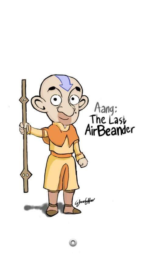 #20 AANG Masih inget dengan Avatar the last airBeander? Ahhh jadi ketularan terpleset ada Bean-nya! LUCU-LUCU kan PULSKER! PULSKER suka karakter mana yang diperankan oleh Mr Bean?!