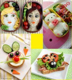 11 MAKANAN KREATIF yang Bikin Gak Tega Makan