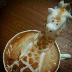 Seni Menggambar Bentuk Kopi-Kopi Latte yang Bakal Bikin Melongo!