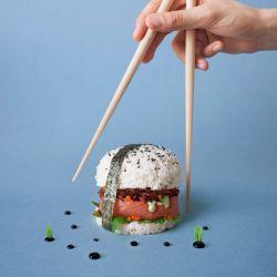 Kenalan Dengan Makanan Yang Lagi Hits Dimana-mana yuk, SUSHI BURGER!