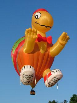 Kumpulan Desain Balon Udara Yang Bakalan Bikin Melongo dan Takjub!