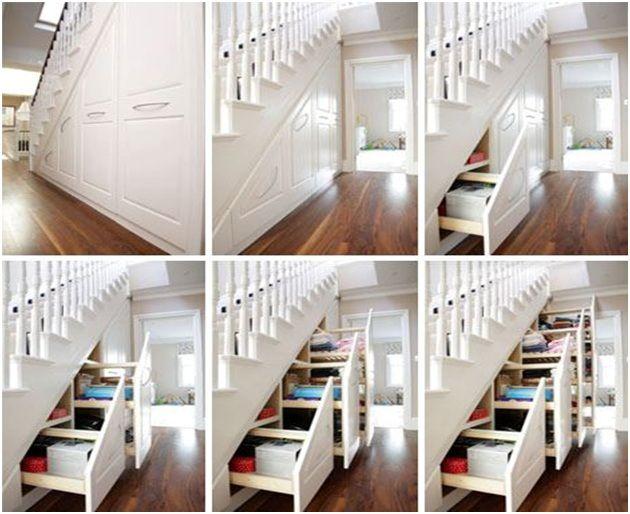 ada yang manfaatkan bagian samping tangga..