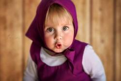 Anak Kecil Perempuan Ini Mirip Banget Loh Sama Marsha! Lucu Abis!