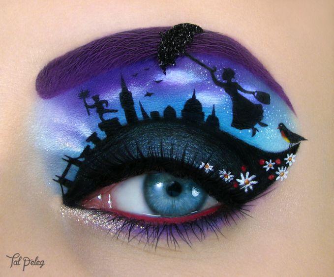 Marry poppins datang. Dia akan menghiasi matamu dengan sihirnya.