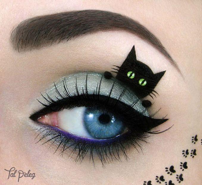 ini baru yang dinamakan mata kucing dalam arti yang sebenar-benarnya