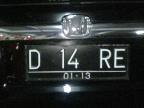 #11 D 14 RE Dibaca diare. Wah untung aja baru aja makan.