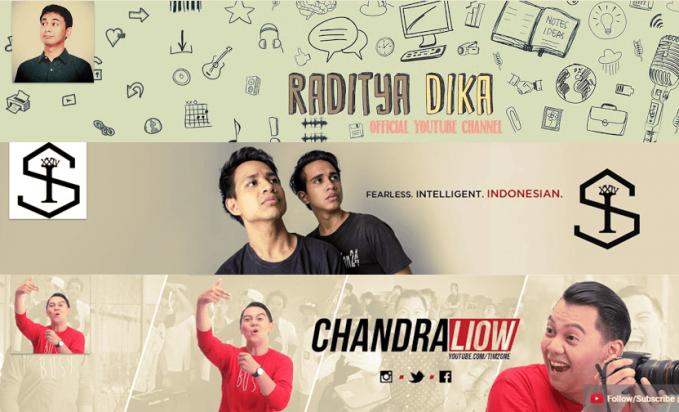 Ini Dia 20 Youtubers Dengan Subscriber Terbanyak di Indonesia