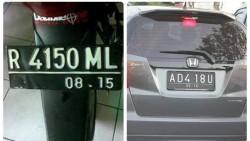 14 PLAT NOMER KENDARAAN UNIK DAN LUCU DI INDONESIA