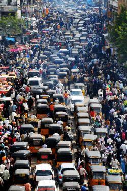 Sumpek Abis! Kayak Gini Nih Penampakan Kemacetan Terparah di Dunia!