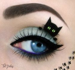 14 KREASI SENI Menggambar Eye Shadow