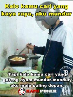 Meme lucu cowok jago memasak ini bikin cewek tersindir, kena deh!