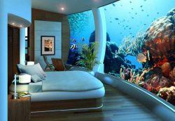 Hotel Bawah Laut Pertama Di Dunia Yang Sangat Menakjubkan dan Luar Biasa Indah!