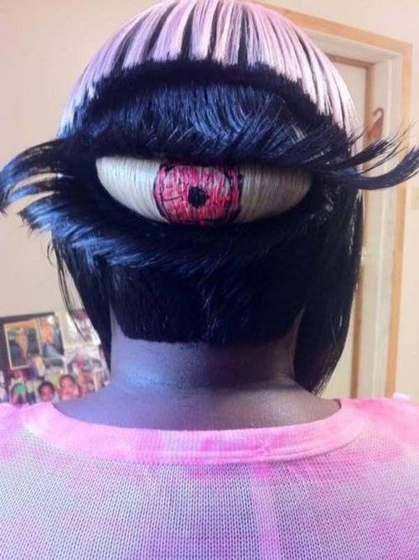 gaya rambut yang cocok banget buat halloween