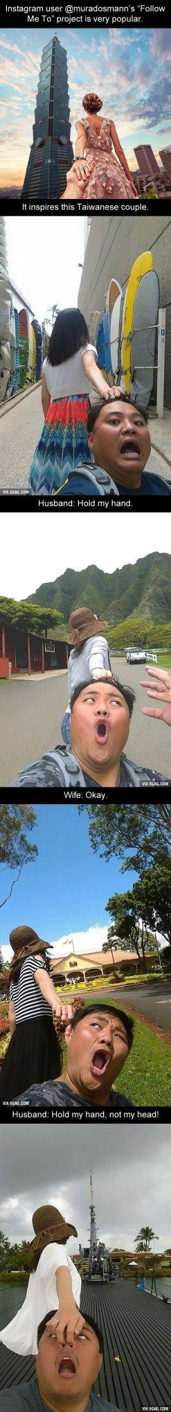 nah ini nih kalo foto follow me to project yang bener... sosuit banget yak