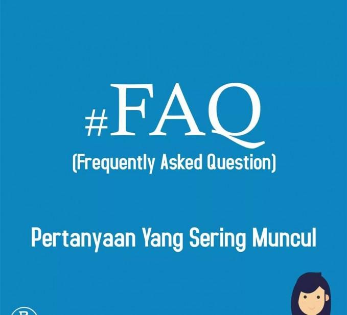 13. #FAQ Berasal dari singkatan Frequently Asked Question. Hastag ini dipakai sebagai jawaban untuk mewakili pertanyaan yang sering muncul supaya tidak dipertanyakan kembali.