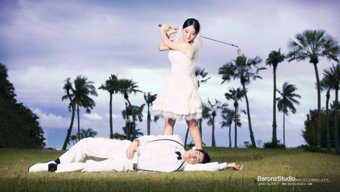 nah, bagi yang suka hobi maen golf, gak salah deh kalo pake tema ini..