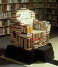 Jangan Buang Atau Jual Buku Bekas Kalian! Bisa Dibikin Jadi Furniture Menakjubkan Berikut...