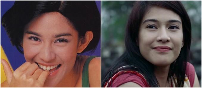 Dian Sastro Dian Sastrowardoyo, aura cantiknya yang Indonesia banget ini emang udah dari dulu kliklinker. Tuh, liat fotonya yang sebelah kiri. Setuju nggak kalau fotonya itu mirip sama alm. Nike Ardila?