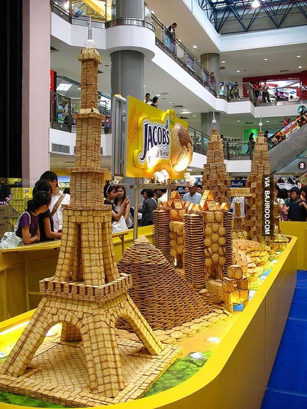 teryata doi juga terbuat dari berbagai macam jenis dan bentuk biskuit..
