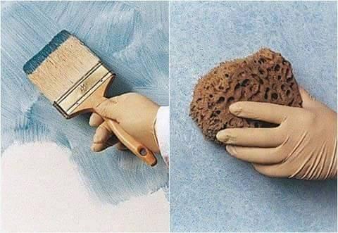 spoon bekas bisa dijadikan alat untuk cat dinding