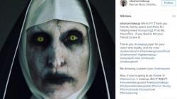 10 Foto Pemeran iblis Valak, Ternyata Aslinya Cantik Banget