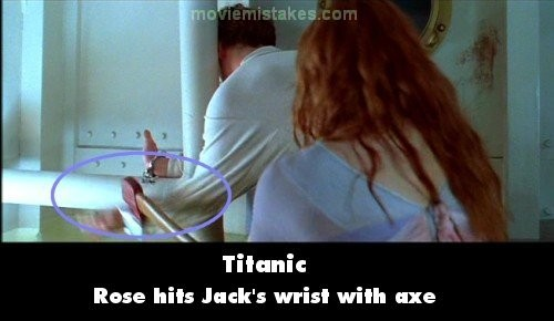 Itu lengan Jack kena kapak donk kalo kayak gini..
