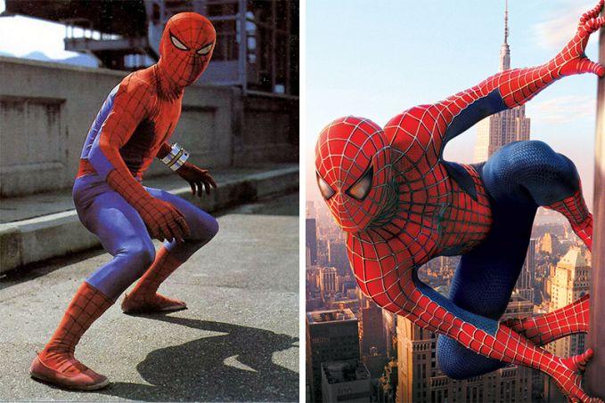 Spider-Man Penampakan pada 1978 dan 2002, wah film ini lama banget ternya