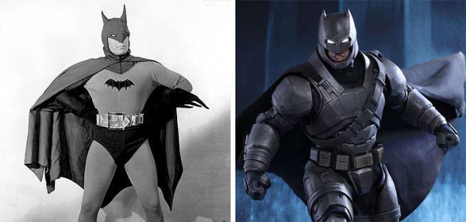 Batman Perbedaan tahun 1943 dan 2016, Ternyata Batman ada sebelum Indonesia Merdeka !