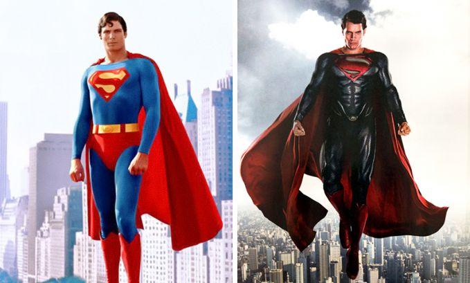 Superman Perubahan Tahun 1975 dan 2016, yang sekarang gahar banget !