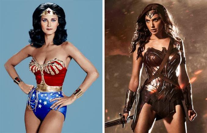 Wonder Woman Perubahan 1975 dan 2016, Wonder Woman dari masa ke masa memang tetap cantik dan 53k5i