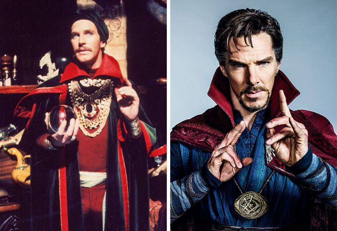 Doctor Strange Perubahan tahun 1978 dan 2016